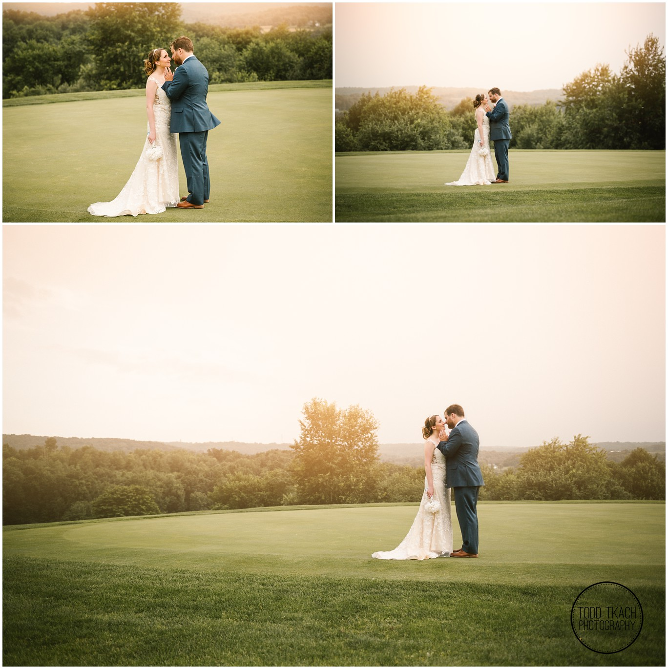 Phil & Caitlin - Seven Oaks - Sunset Collage