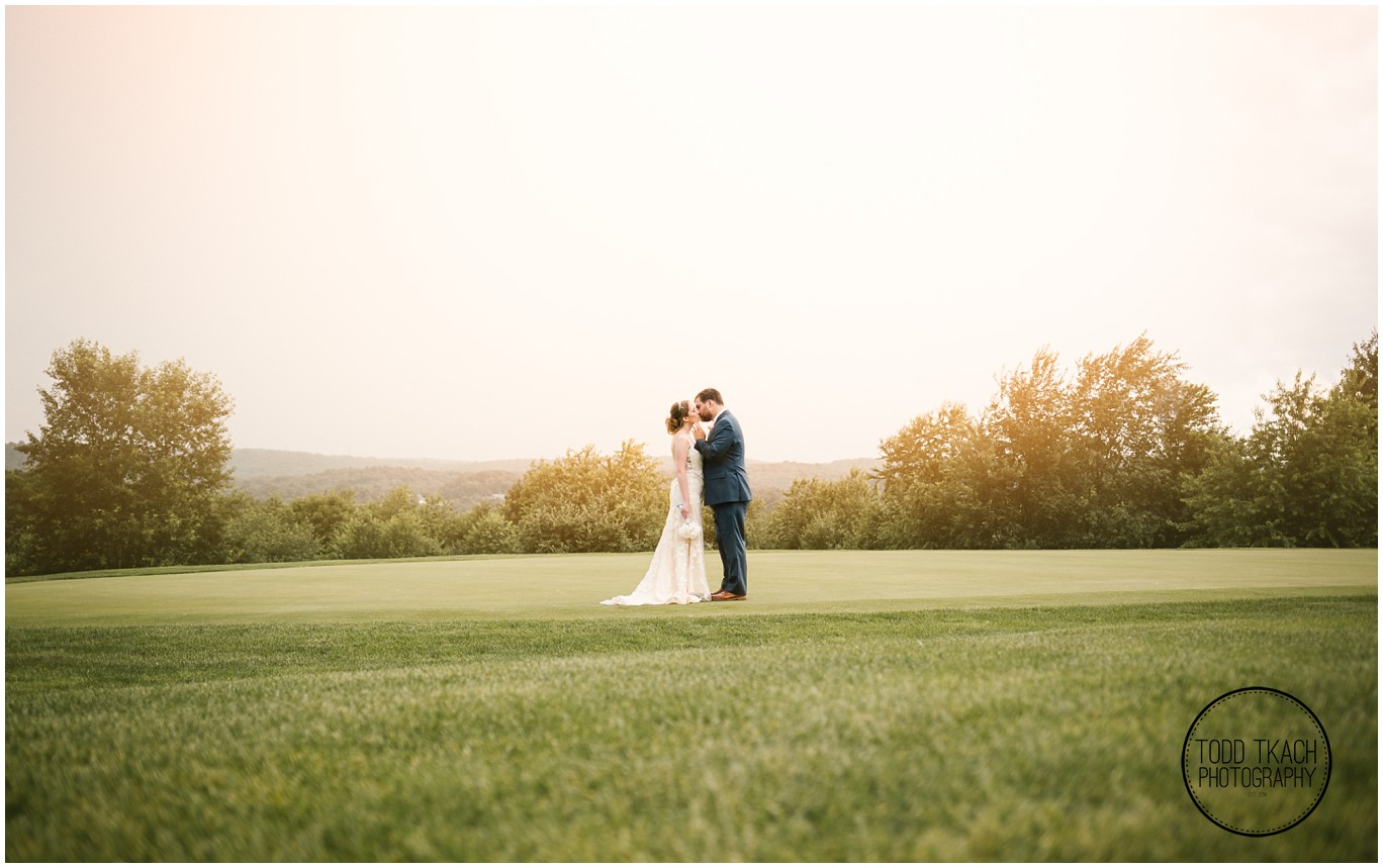 Phil & Caitlin - Seven Oaks - Sunset Kiss