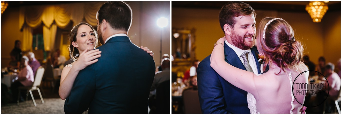 Phil & Caitlin - Seven Oaks - First Dance Collage