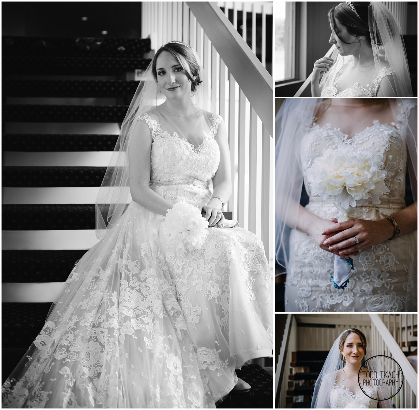 Phil & Caitlin - Seven Oaks - Caitlin Bridal Portraits Collage