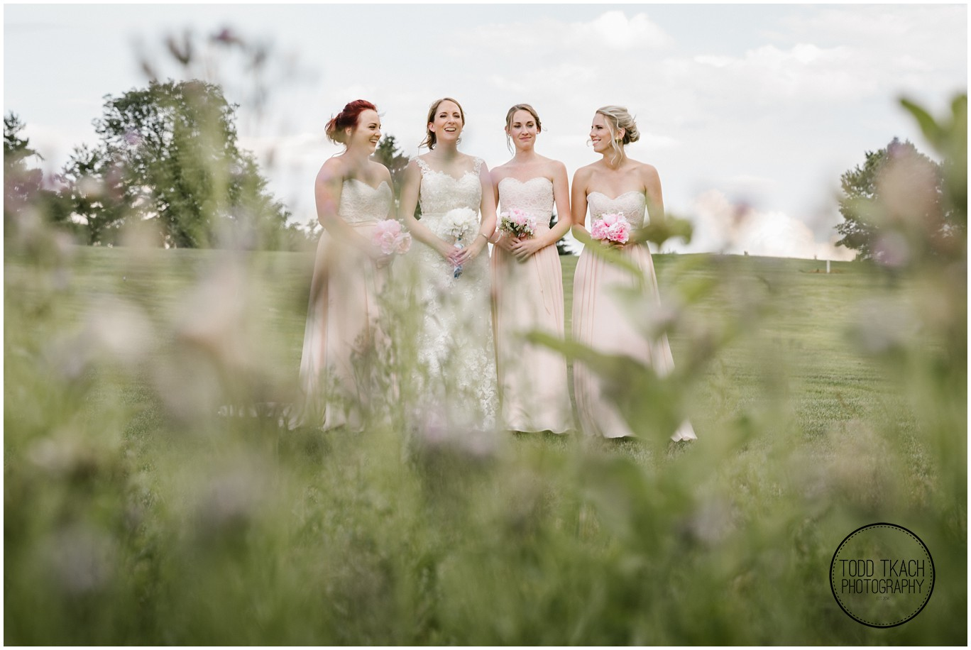 Phil & Caitlin - Seven Oaks - Bridesmaids Portrait