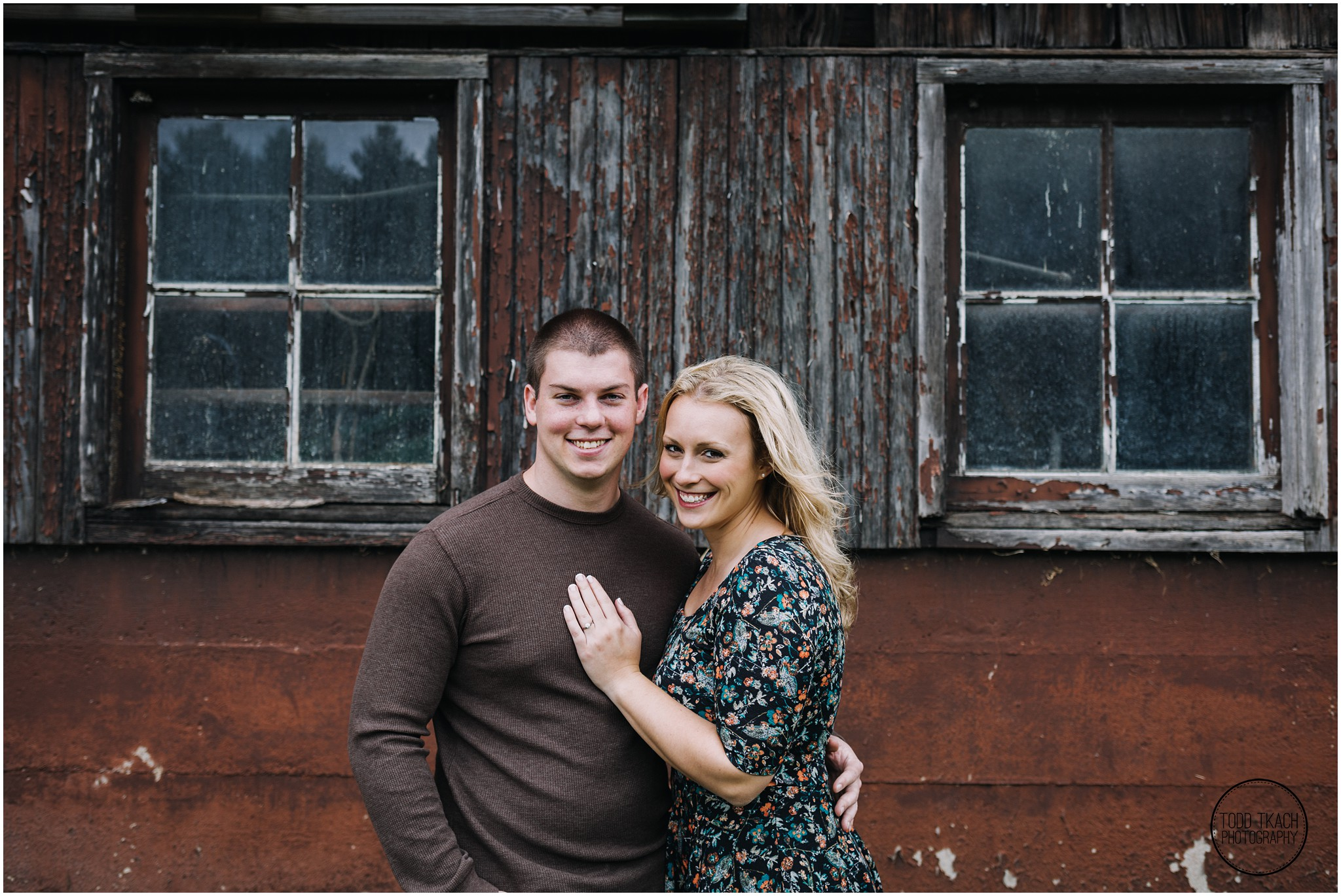 Christie & Scott - Rustic Portrait