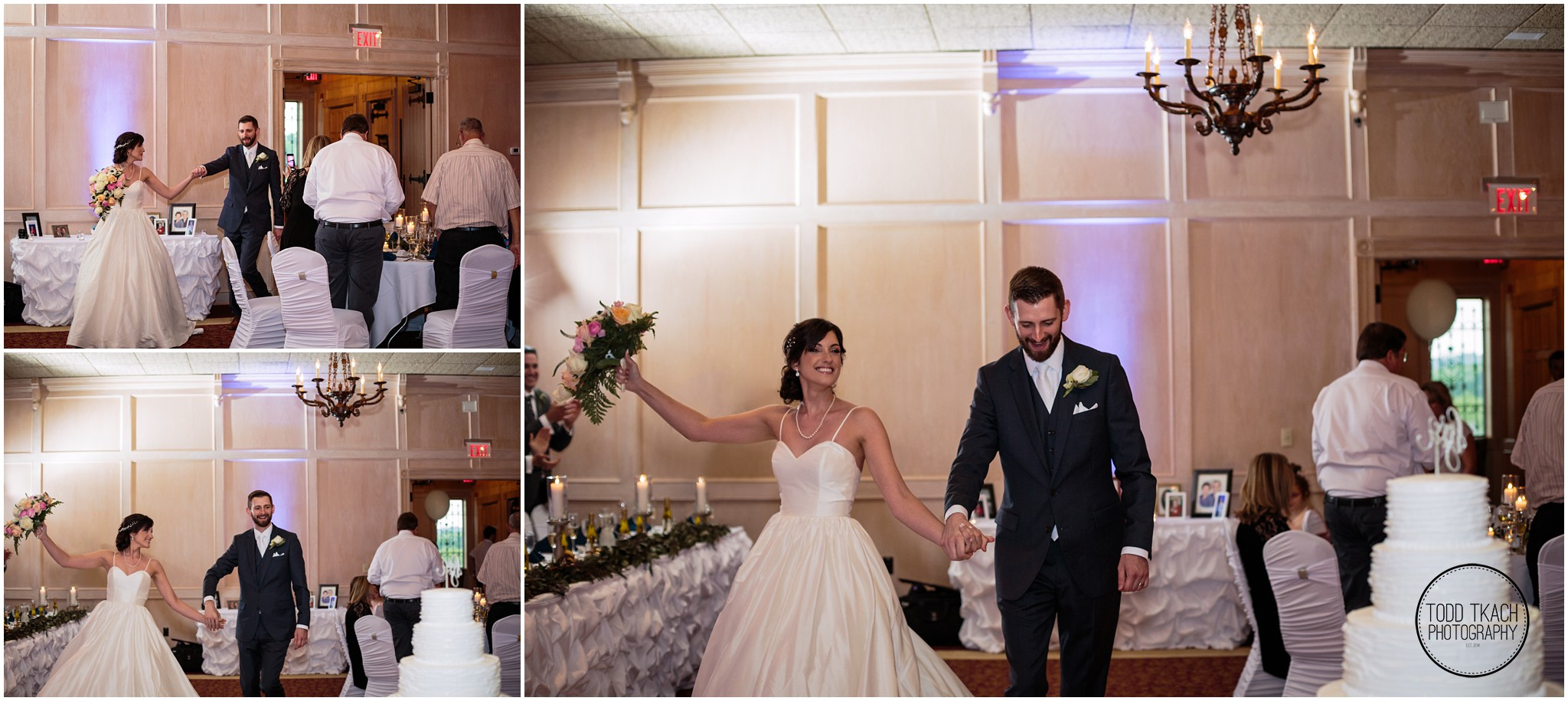 Jessica & Todd - Entrance Collage