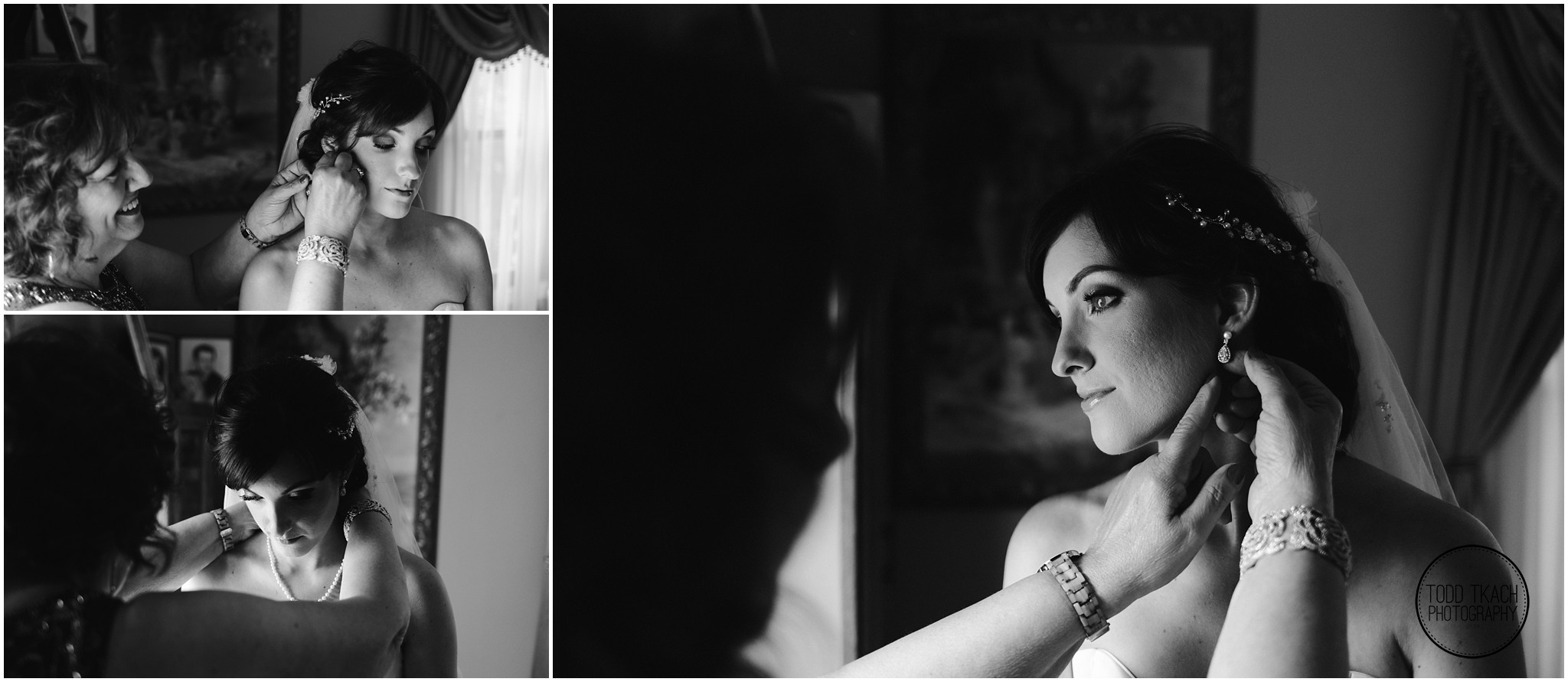 Jessica & Todd - Prep B&W Collage